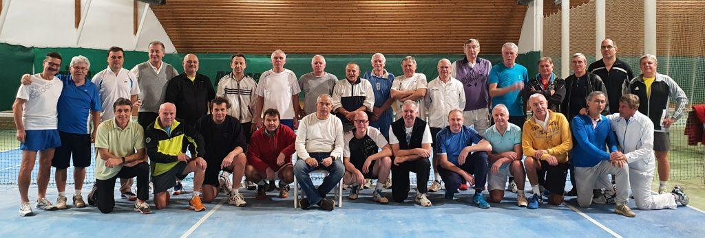 Muži B se zúčastnili prestižního tenisového turnaje - leden 2020